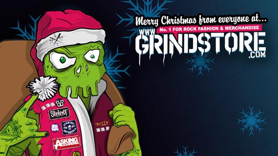 Green Santa Skully