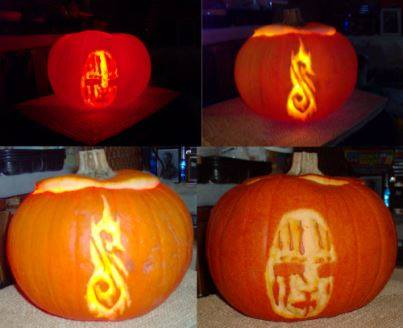 Slipknot Pumpkin