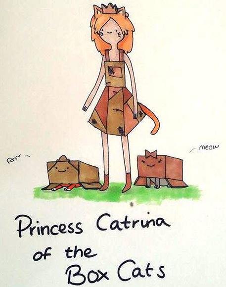 Princess-Catrina-of-the-Box-Cats-by-Sarah-Cox